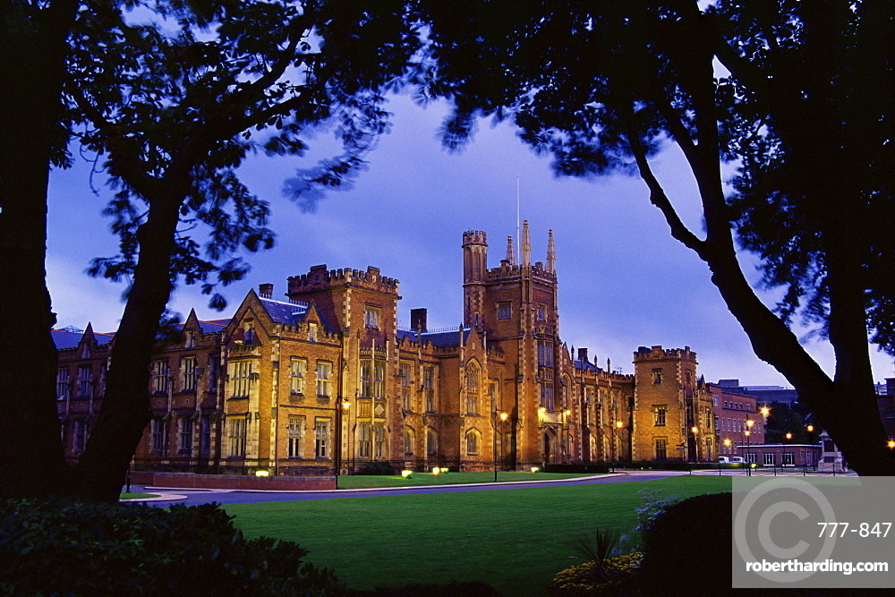 Queens University, Belfast, Ulster, Northern Ireland, United Kingdom, Europe