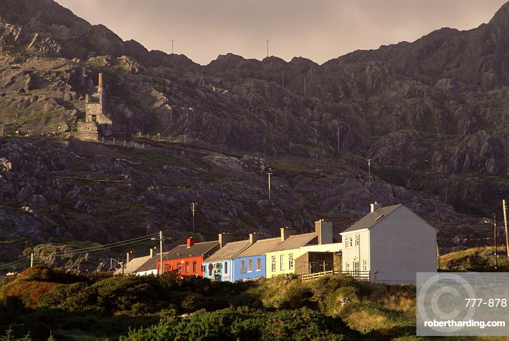 Allihies village, Beara Peninsula, County Cork, Munster, Republic of Ireland, europe