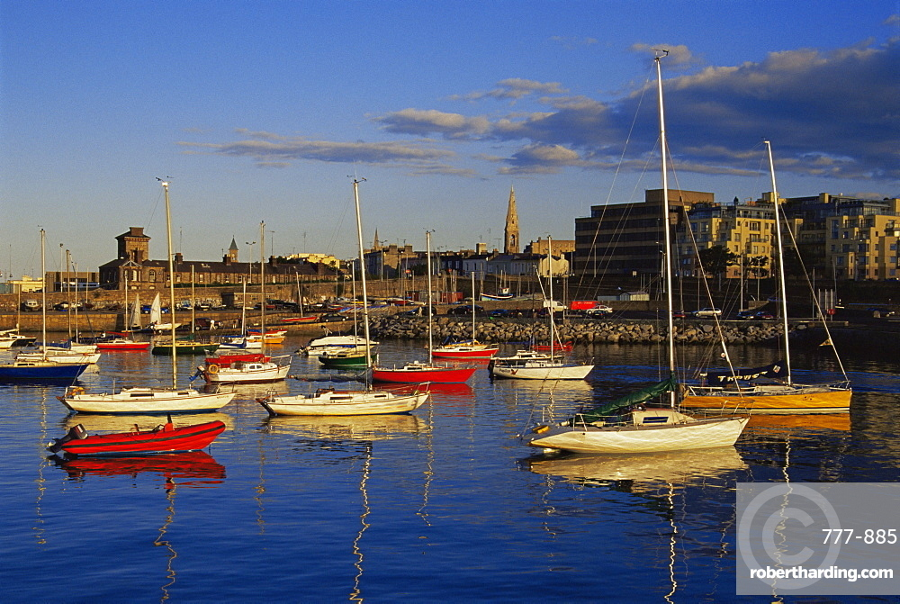 Dun Laoghaire harbour, Dublin City, Republic of Ireland, Europe