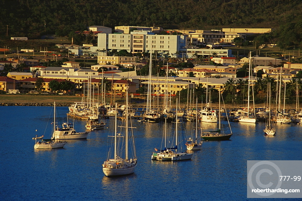 Harbour, Charlotte Amalie, St. Thomas, U.S. Virgin Islands, West Indies, Caribbean, Central America