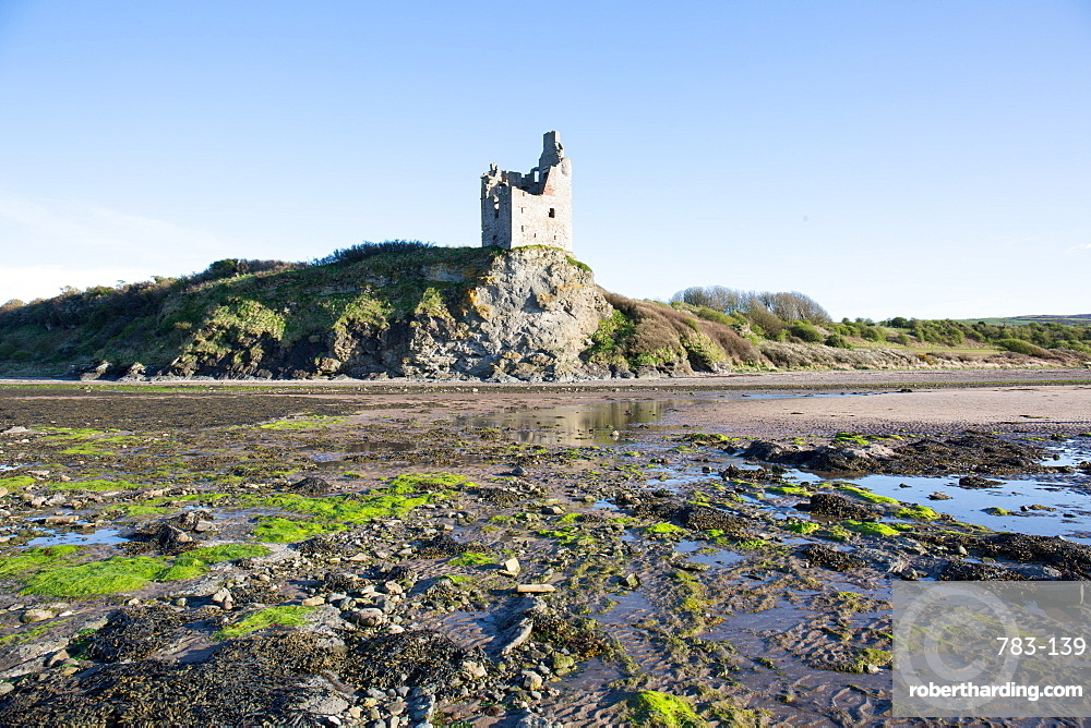 Greenan Castle, Ayr, Scotland, United Kingdom, Europe