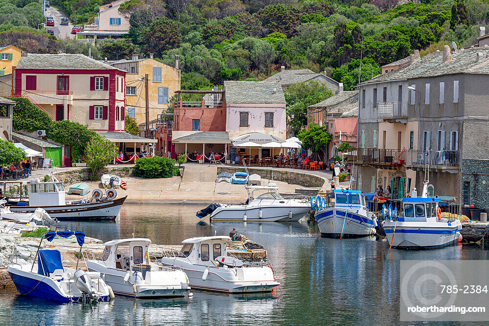The small fishing village of Port de Centuri on Cap Corse, the most northerly point of Corsica