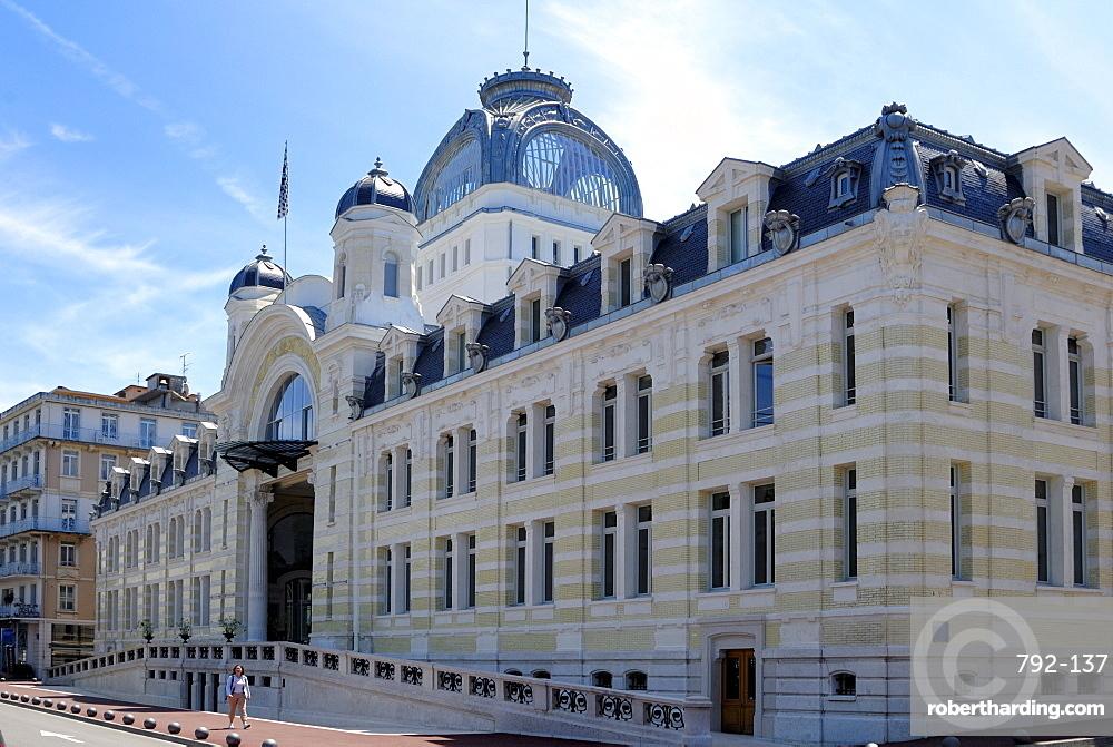 Palais Lumiere, exhibition and congress centre, Evian-les Bains, Haute-Savoie, France, Europe