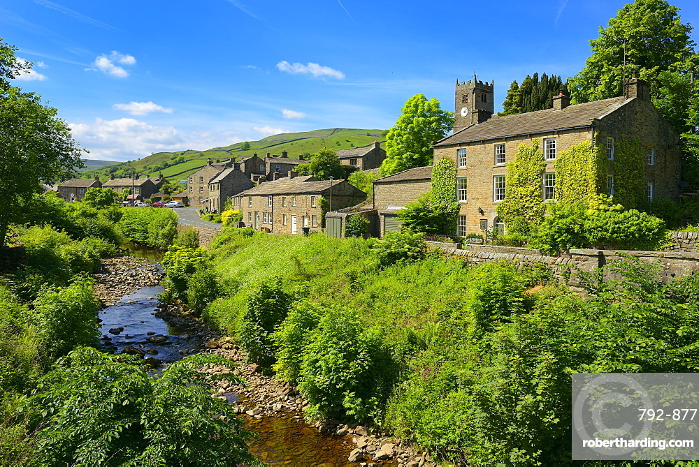 Straw Beck, Muker, Swaledale, Yorkshire Dales National Park, North Yorkshire, England, United Kingdom, Europe
