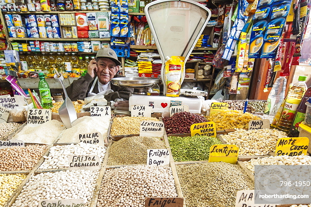 Central market in Chiclayo, Peru, South America