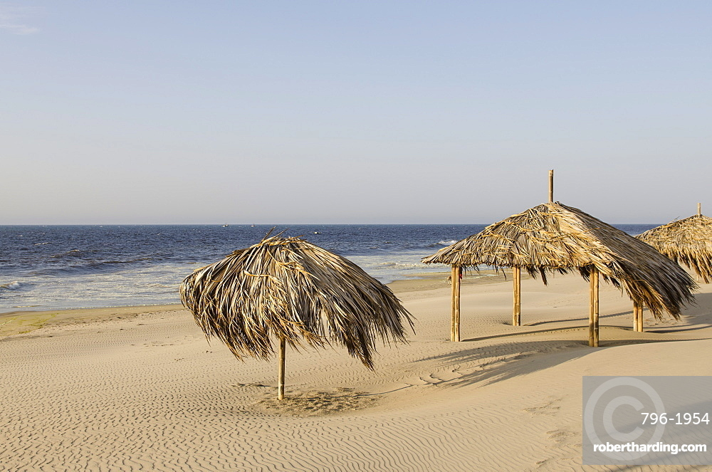 The beach at Mancora, Peru, South America