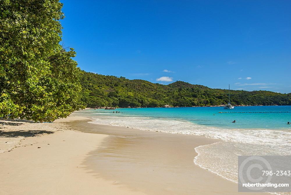 Anse Lazio Beach, Praslin, Republic of Seychelles, Indian Ocean, Africa