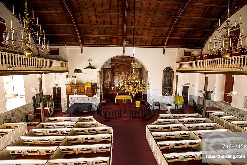Historic Frederick Lutheran Church, Charlotte Amalie, St. Thomas, US Virgin Islands, Caribbean