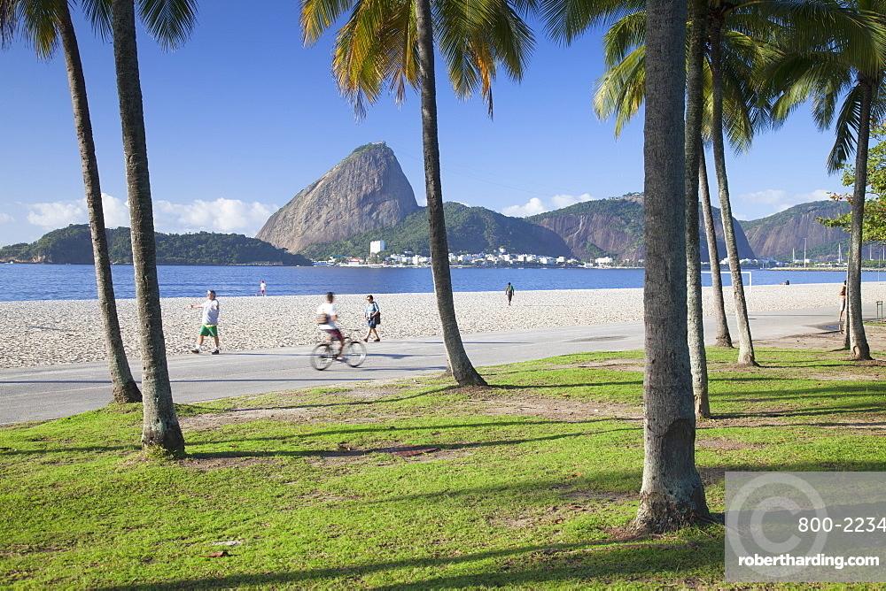 Flamengo Beach and Sugarloaf Mountain, Rio de Janeiro, Brazil