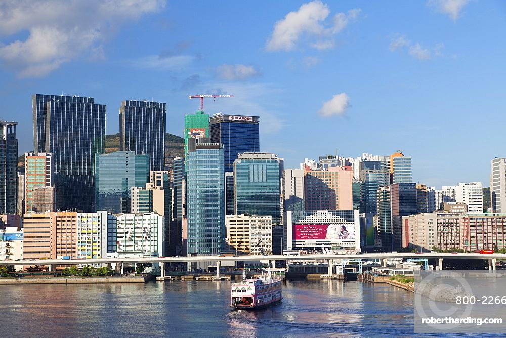 Skyscrapers of Kwun Tong, Kowloon, Hong Kong, China, Asia