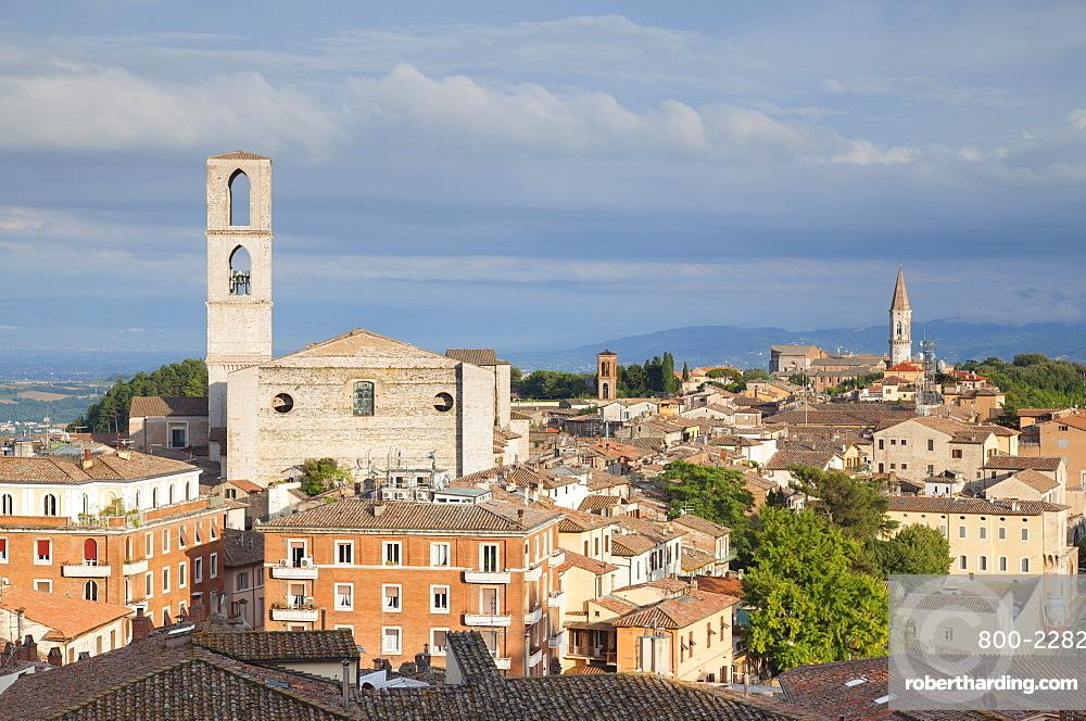 San Domenico Church, Perugia, Umbria, Italy, Europe