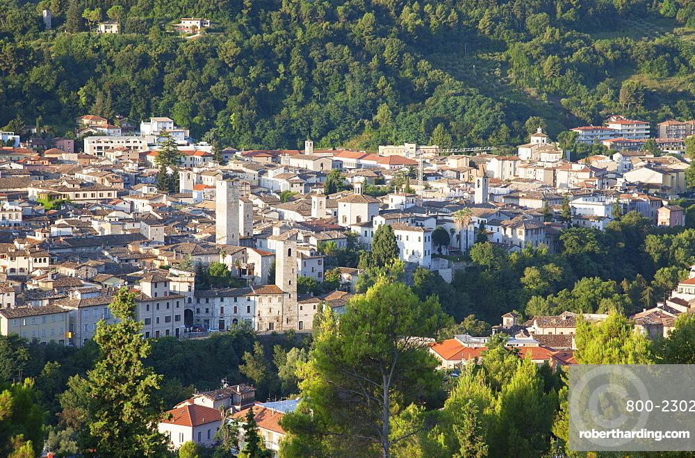 View of Ascoli Piceno, Le Marche, Italy, Europe