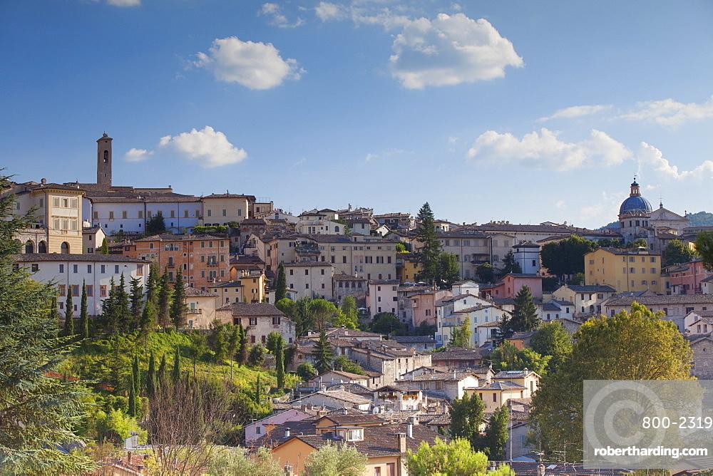 View of Spoleto, Umbria, Italy, Europe