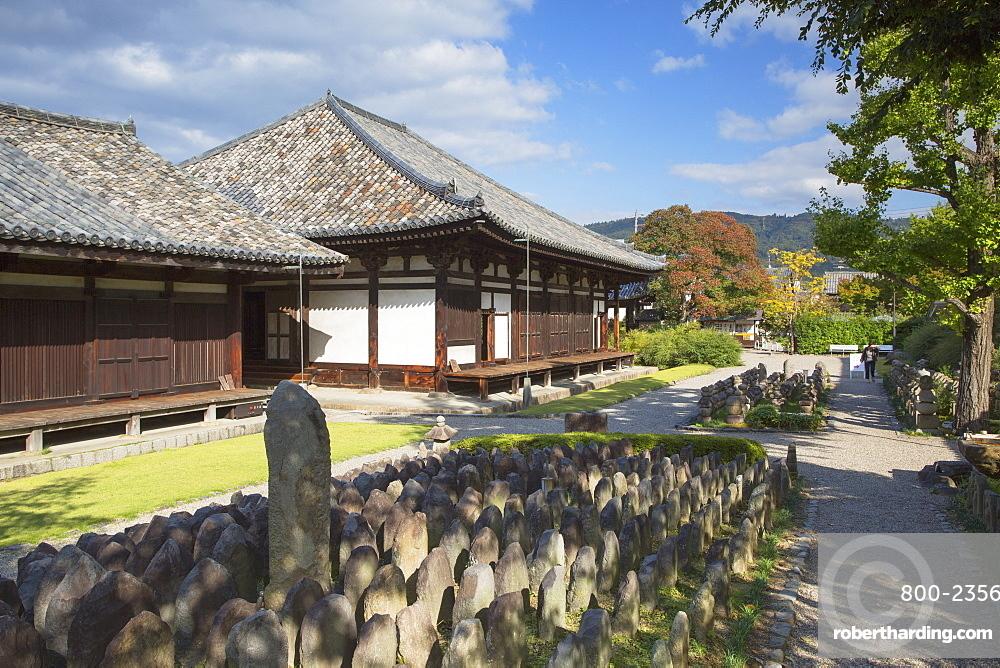 Gangoji Temple, UNESCO World Heritage Site, Nara, Kansai, Japan, Asia