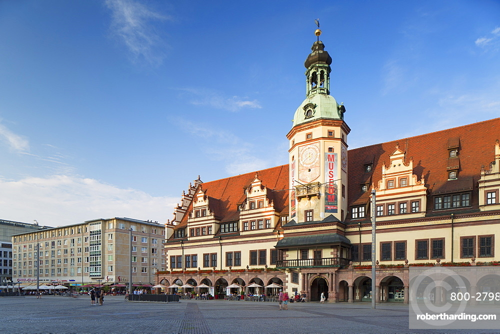 Old Town Hall (Altes Rathaus), Leipzig, Saxony, Germany, Europe