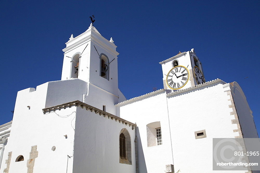 Church of Santa Maria do Castelo, Tavira, Algarve, Portugal, Europe