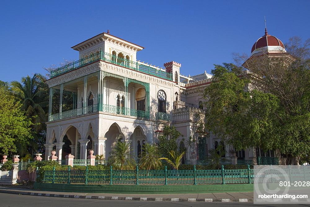 Palacio de Valle, Cienfuegos City, UNESCO World Heritage Site, Cienfuegos, Cuba, West Indies, Central America