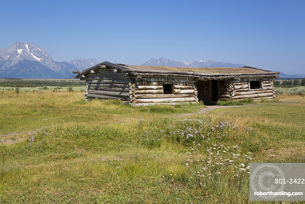 Cunningham Cabin, Grand Teton National Park, Wyoming, United States of America, North America