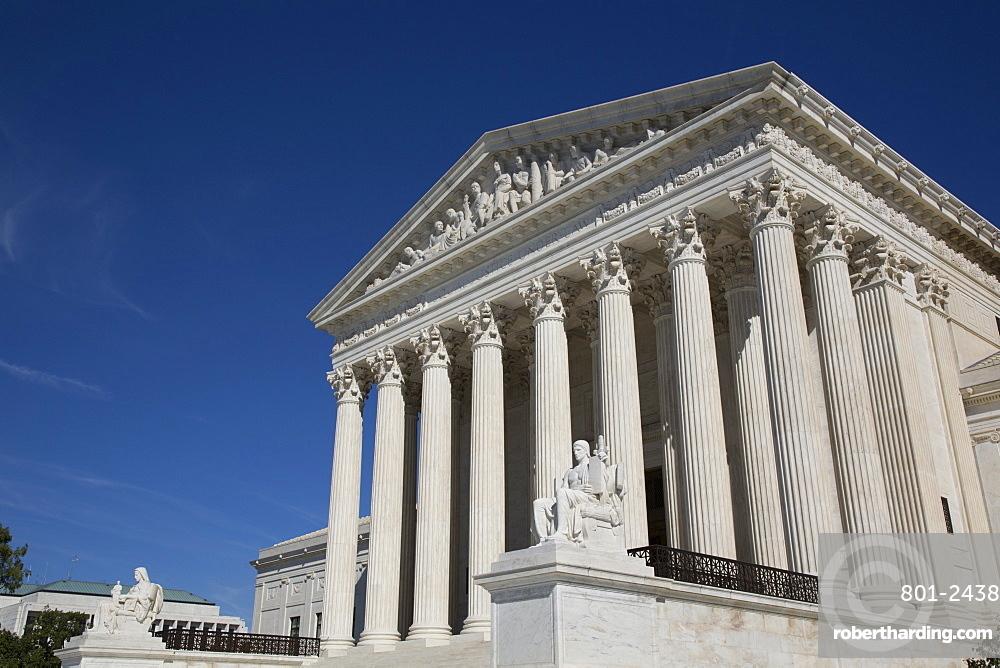 United States Supreme Court Building, Washington D.C., United States of America, North America