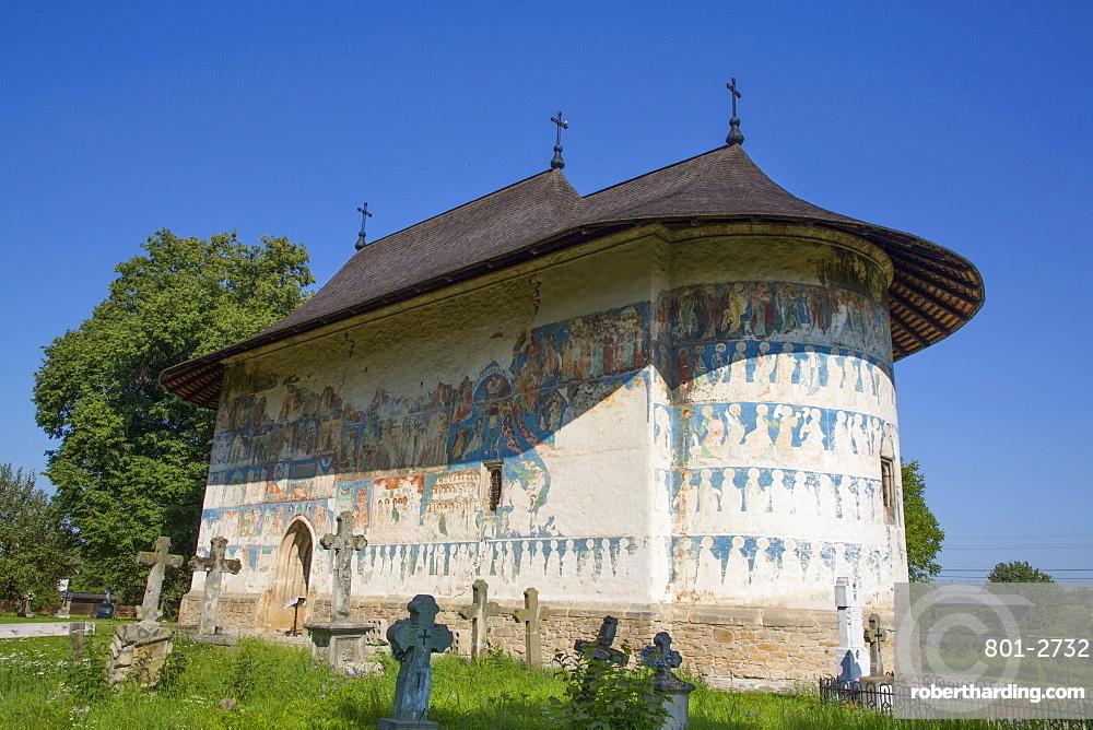 Arbore Monastery, 1502, UNESCO World Heritage Site, Arbore, Suceava County, Romania