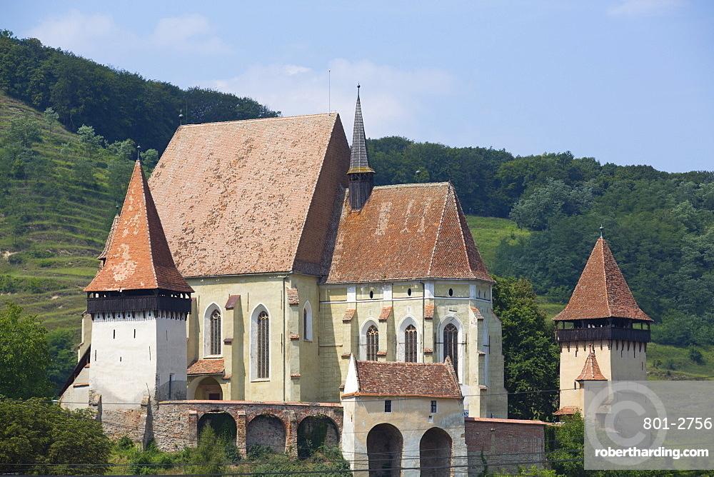 Biertan Fortified Church, 15th century, UNESCO World Heritage Site, Biertan, Sibiu County, Romania, Europe