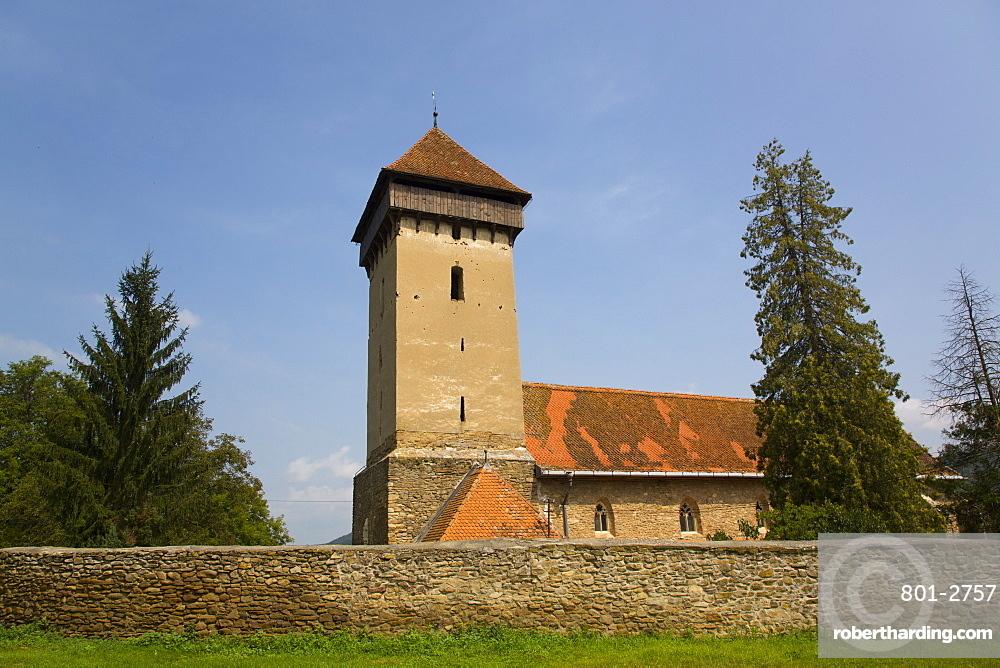 Malancrav Fortified Church, 14th Century, Malancrav, Sibiu County, Romania