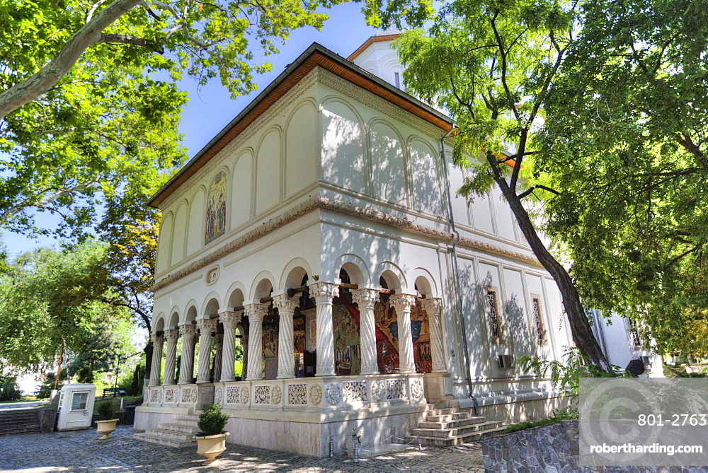 New St George Church, 1705, Old Town, Bucharest, Romania