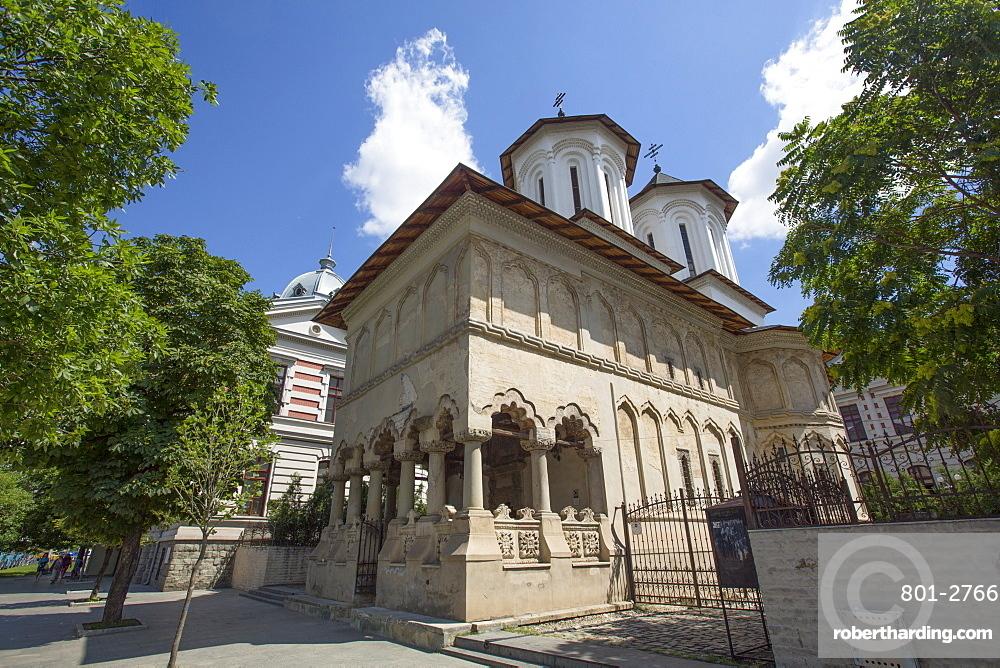 Coltea Orthodox Church, 1701, Old Town, Bucharest, Romania