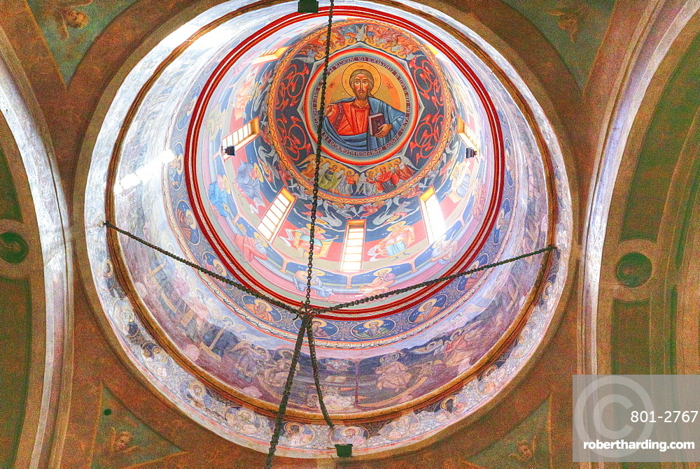 Coltea Orthodox Church, dating from 1701, Old Town, Bucharest, Romania, Europe