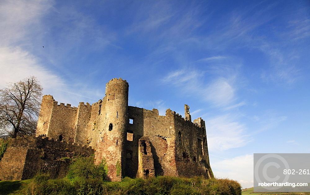 Laugharne Castle, Pembrokeshire, Wales, United Kingdom, Europe