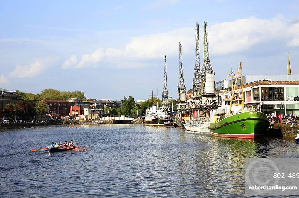 Bristol Harbourside, City of Bristol, England, United Kingdom, Europe