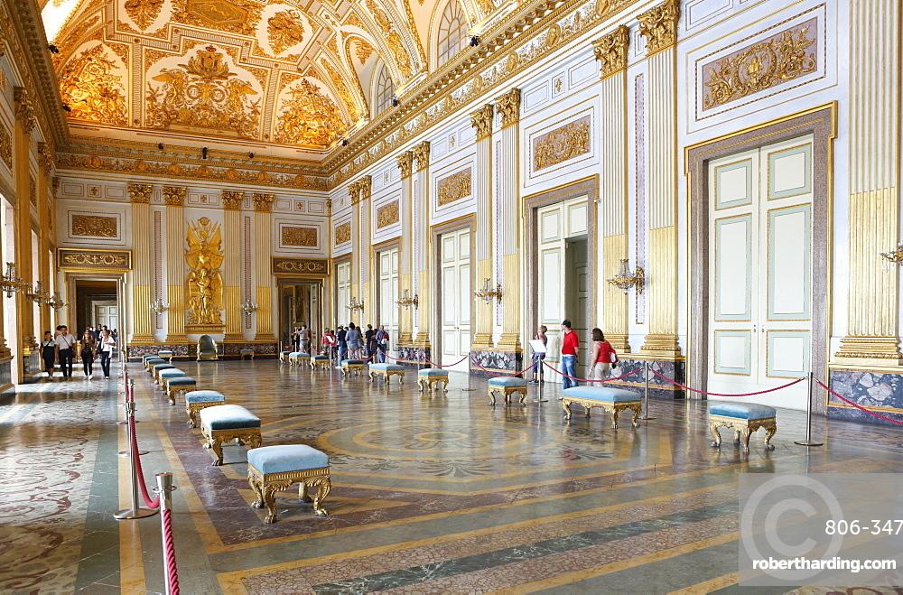 Salon, Reggia di Caserta, Caserta, Campania, Italy, Europe