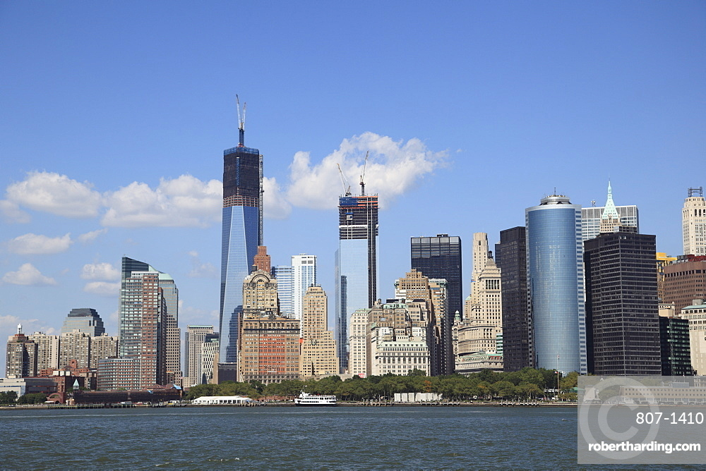 Freedom Tower, 1 World Trade Center, Lower Manhattan, Financial District, Manhattan, New York City, United States of America, North America
