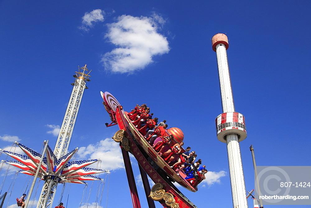 Luna Park, Amusement Park, Coney Island, Brooklyn, New York City, United States of America, North America