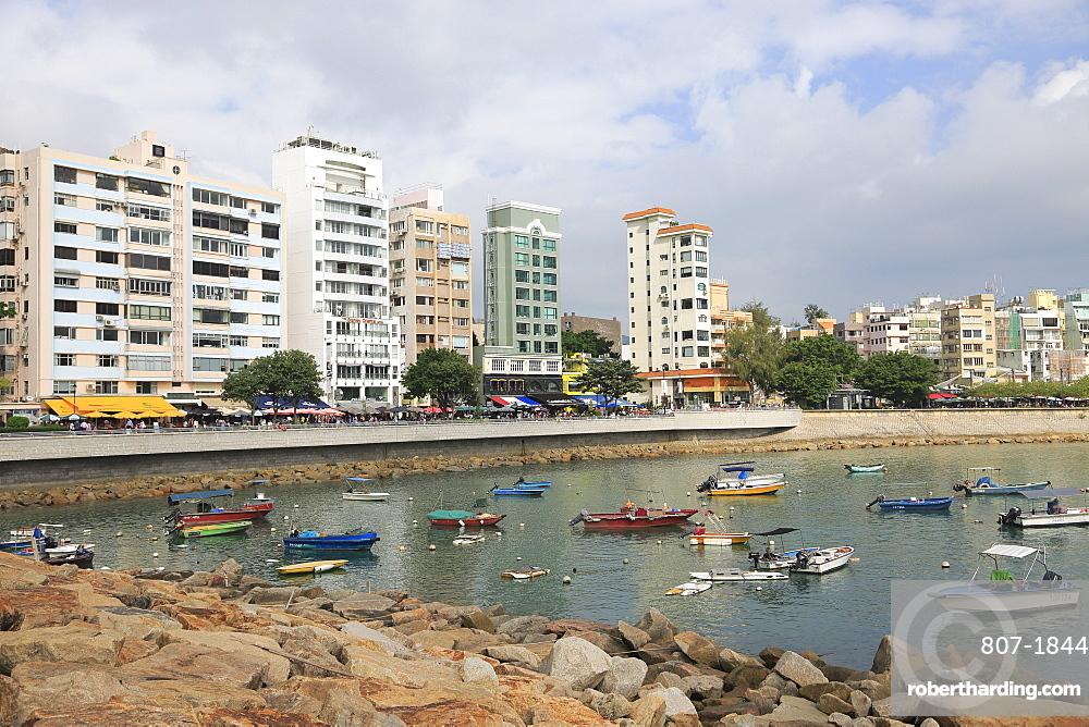 Waterfront and Bay, Stanley, Hong Kong Island, Hong Kong, China, Asia