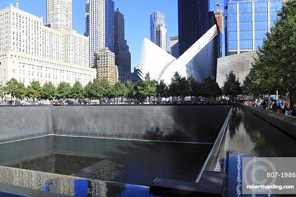 National September 11, 9/11 Memorial, Oculus, World Trade Center, Financial District, Manhattan, New York City, United States of America, North America
