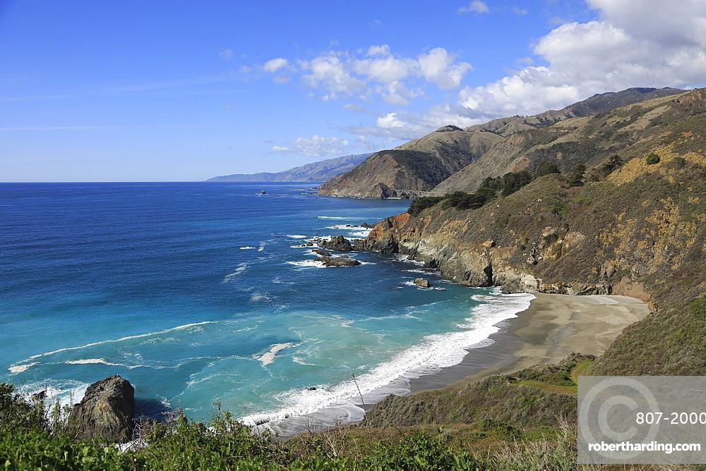 Big Sur Coastline, Pacific Ocean, California, United States of America, North America