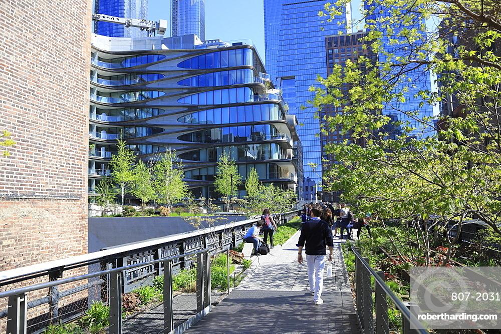 High Line Park, Manhattan, New York City, New York, United States of America
