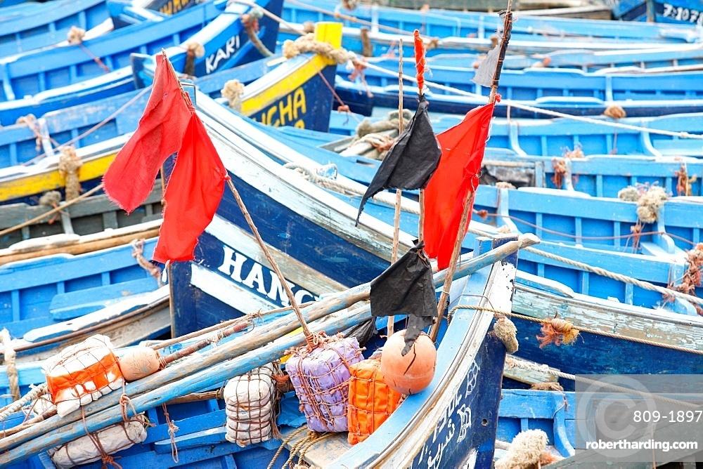 Fishing boats, Essaouira, Morocco, North Africa, Africa