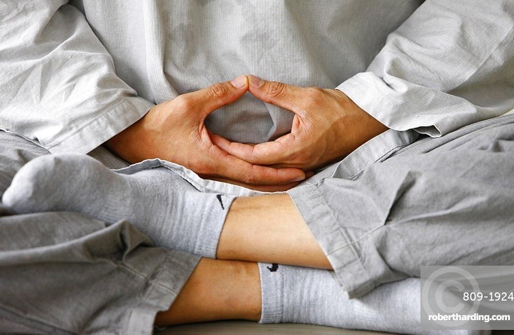 Zen meditation, Seoul, South Korea, Asia