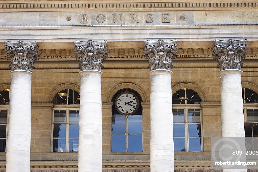 Bourse (Stock Exchange), Paris, France, Europe