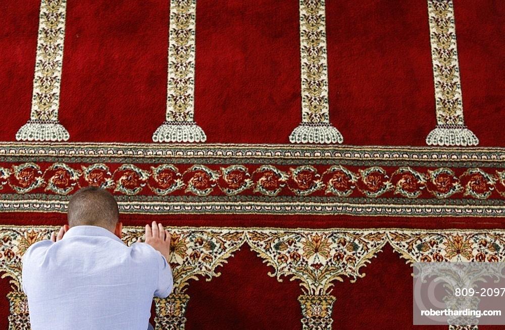 Muslim prayer, Vlora, Albania, Europe