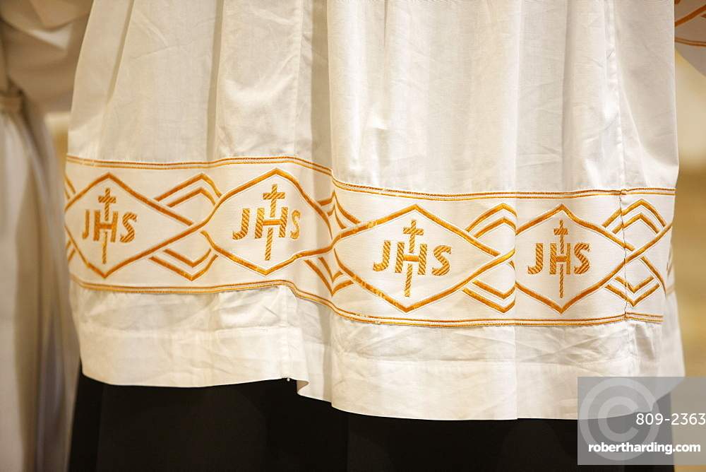 Seminarist's cloth, Beit Jala, Palestine National Authority, Israel, Middle East