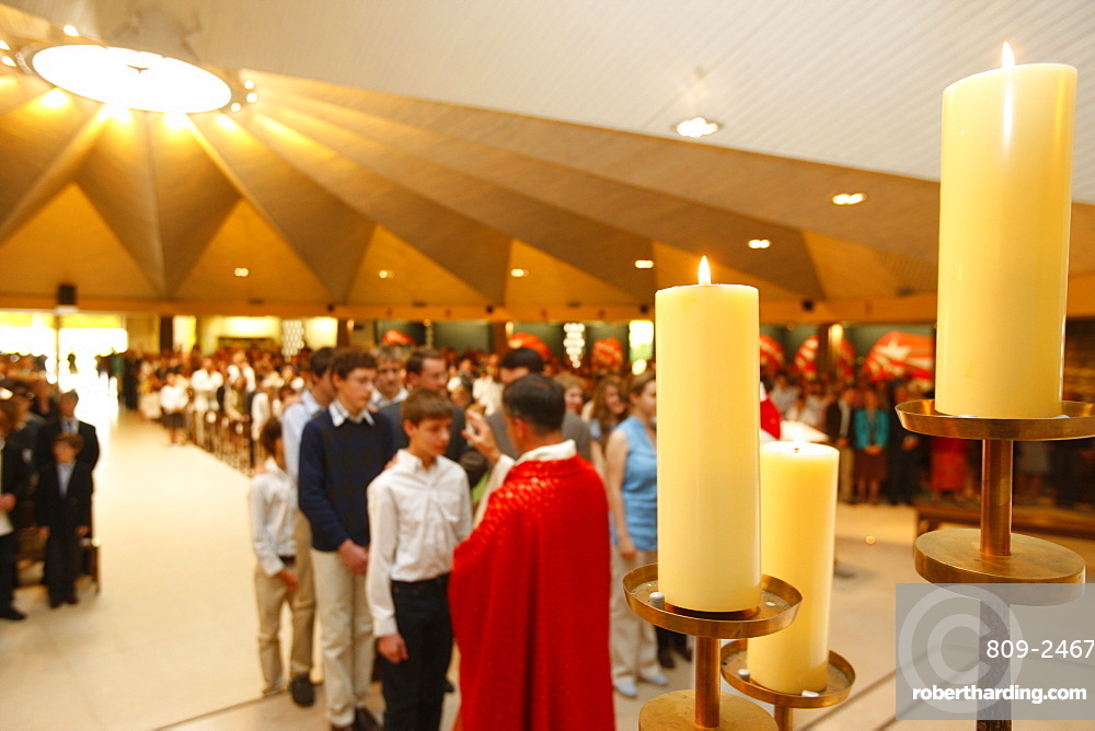 Confirmation, Le Chesnay, Yvelines, France, Europe