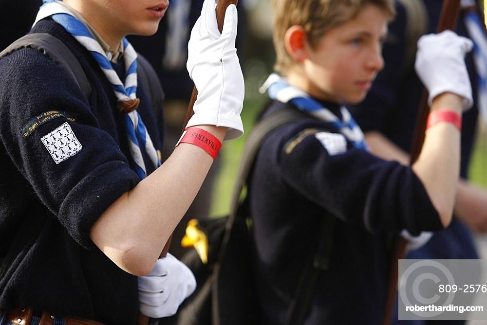 Scouts, Paris, France, Europe