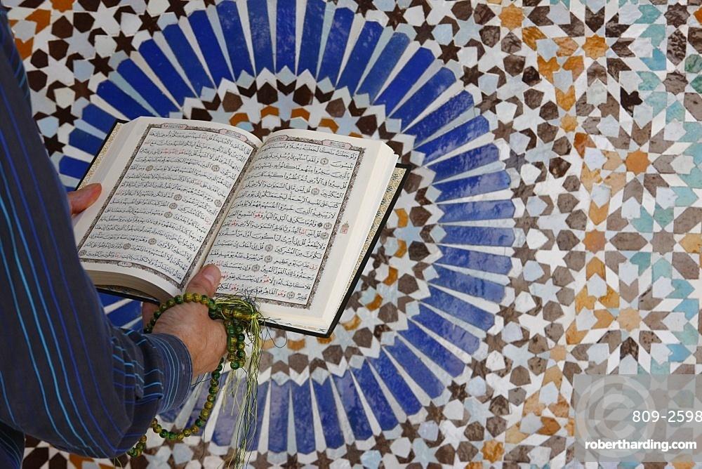 Koran reading, Paris, France, Europe