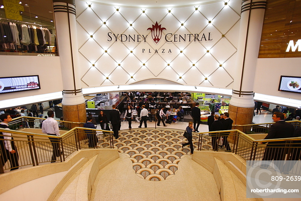Food court, Sydney Central, Sydney, New South Wales, Australia, Pacific