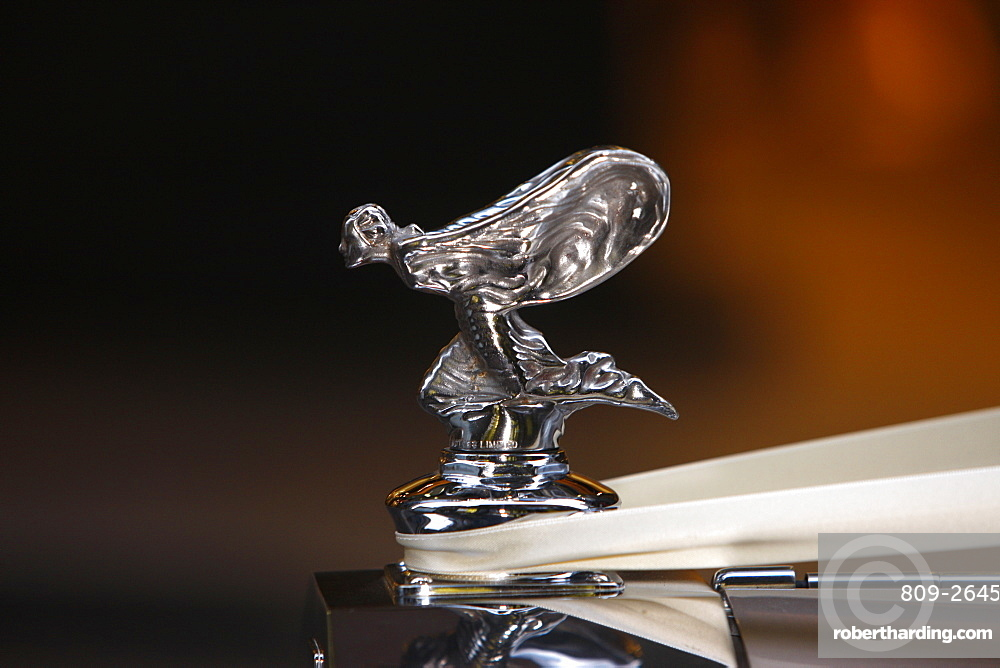 Rolls Royce radiator cap, the spirit of ecstasy, Sydney, New South Wales, Australia, Pacific