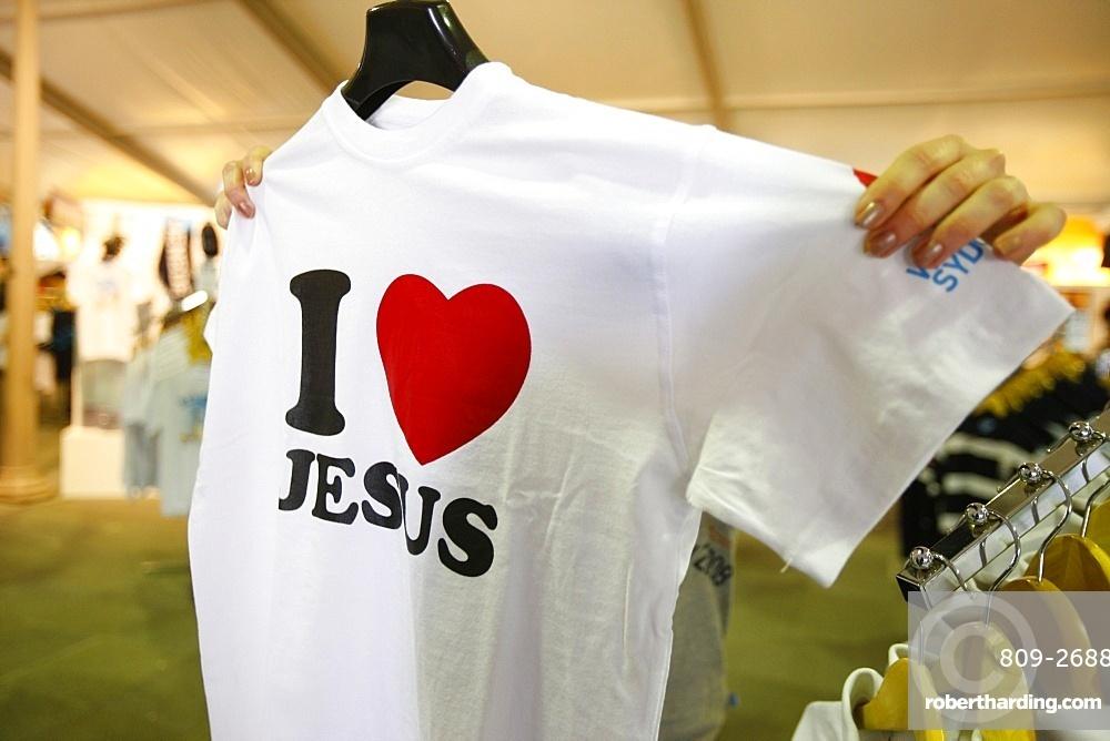 I Love Jesus T-shirt, Sydney, New South Wales, Australia, Pacific