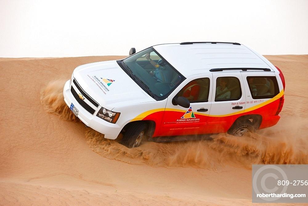Desert safari. Dubai, United Arab Emirates, Middle East